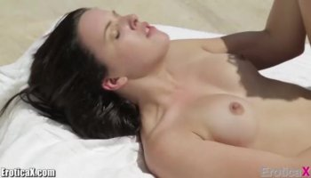 Lily loves massage and really rough penetrations